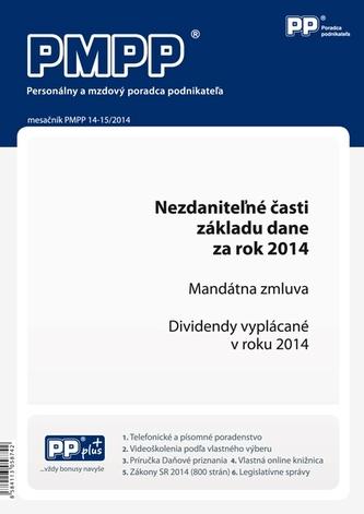 PMPP 14-15/2014 Nezdaniteľné časti základu dane za rok 2014