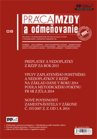Práca, mzdy a odmeňovanie 8/2014