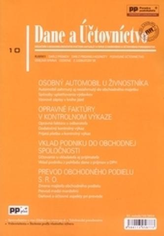 Dane a účtovníctvo 10/2014