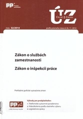 UZZ 32/2014 Zákon o službách zamestnanosti. Zákon o inšpekcii práce