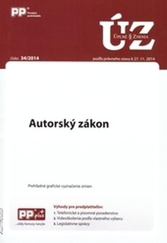 UZZ 34/2014 Autorský zákon