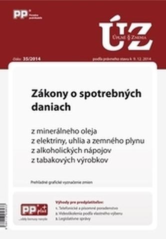 UZZ 35/2014 Zákony o spotrebných daniach