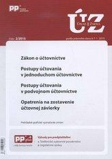 UZZ 2/2015 Zákon o účtovníctve