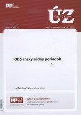 UZZ 4/2015 Občiansky súdny poriadok