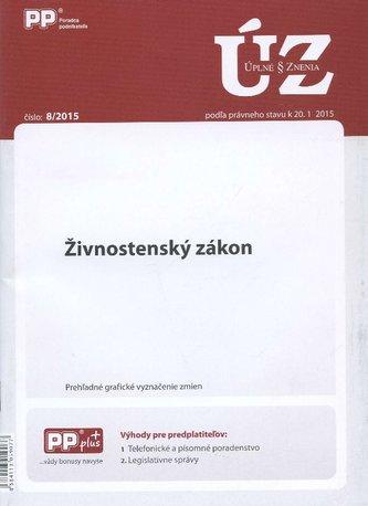 UZZ 8/2015 Živnostenský zákon