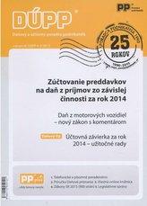 DÚPP 4-5/2015 Zúčtovanie preddavkov na daň z príjmov zo závislej činnosti za rok 2014