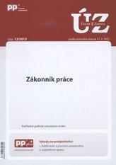 UZZ 12/2015 Zákonník práce
