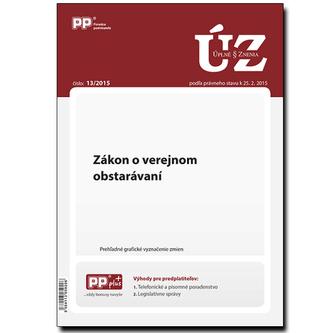 UZZ 13/2015 Zákon o verejnom obstarávaní