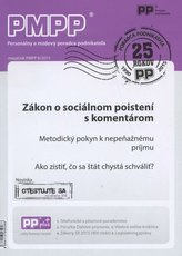 PMPP 8/2015 Zákon o sociálnom poistení s komentárom