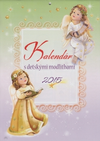 Kalendár s detskými modlitbami 2015