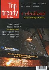 Top trendy v obrábaní III. cast -  Technológia obrábania