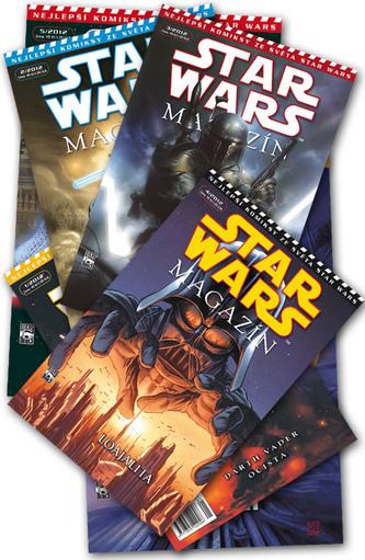 Star Wars magazín 1 - 6