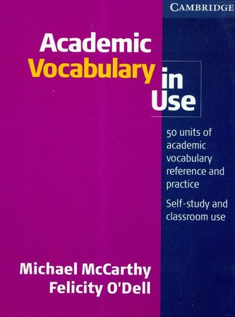 Academic Vocabulary in Use: with answers
