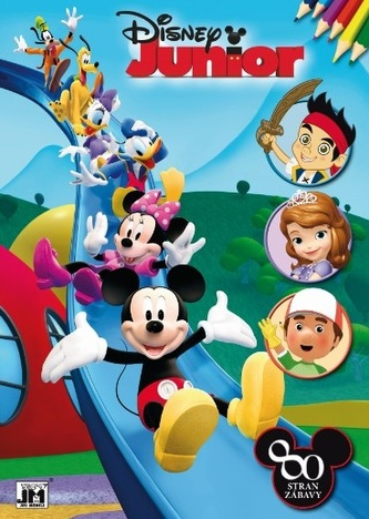 Vymaľovanka Disney Junior