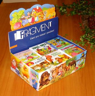 Krabice na leporela naplněná