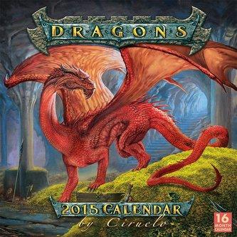 Dragons 2015 Calendar by Ciruelo