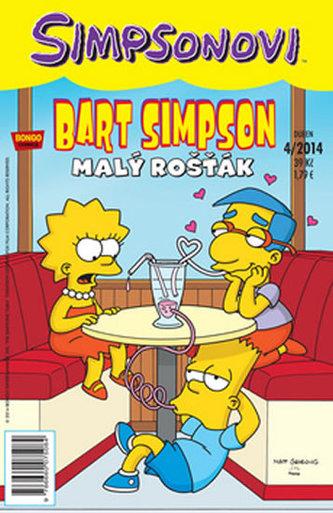 Bart Simpson 4/2014:  Malý rošťák