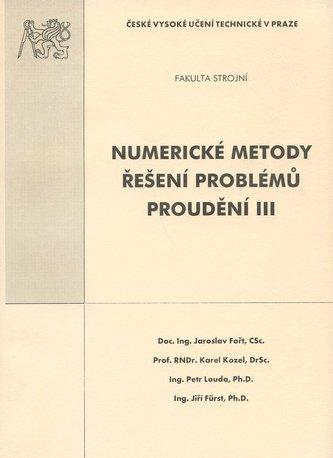 Numerické metody řešení problémů proudění III