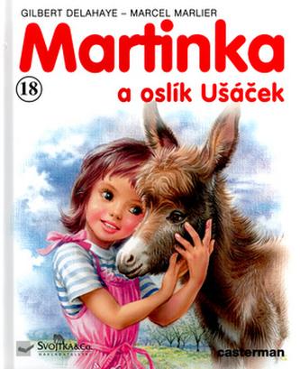 Martinka (18) a oslík Ušáček