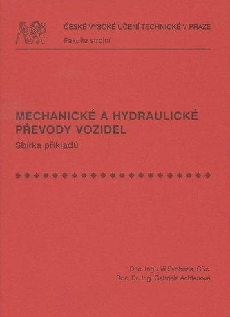 Mechanické a hydraulické převody vozidel