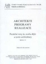Architekti. Programy. Realizace