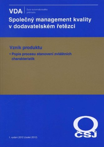 Společný management kvality v dodavatelském řetězci