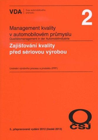 Management kvality v automobilovém průmyslu VDA 2