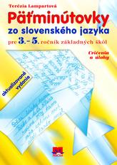 Päťminútovky zo slovenského jazyka
