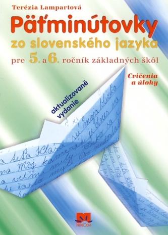 Päťminútovky zo slovenského jazyka pre 5.- 6.ročník základných škôl - 4.vydanie