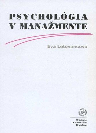 Psychológia v manažmente