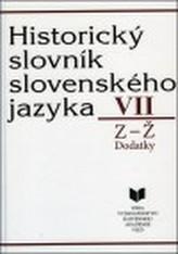 Historický slovník slovenského jazyka VII (Z - Ž)