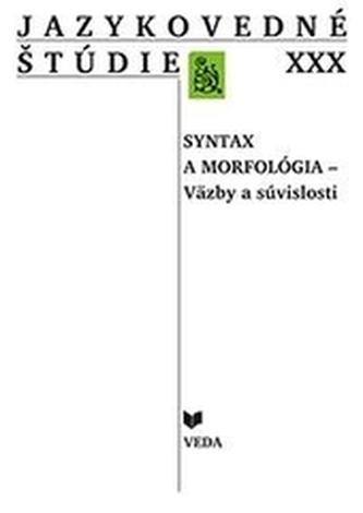 Jazykovedné štúdie XXX