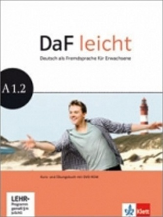 DaF leicht A1.2 Kurs/Arbeitsbuch + DVD-Rom
