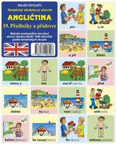 Najdi dvojici - Angličtina -  19. Předložky a příslovce