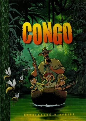 Congo - Abrafaxové v Africe