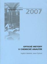 Optické metody v chemické analýze