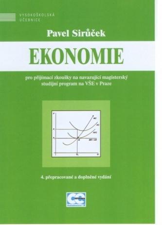 Ekonomie pro PZ na navazující magisterský SP na VŠE