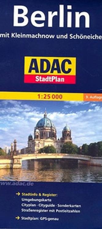 Berlín - plán města