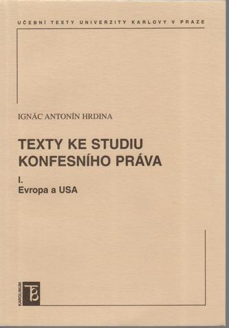 Texty ke studiu konfesního práva I.