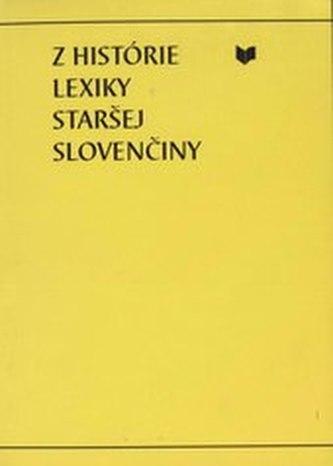 Z histórie lexiky