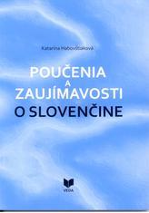 Poučenia a zaujímavosti o slovenčine