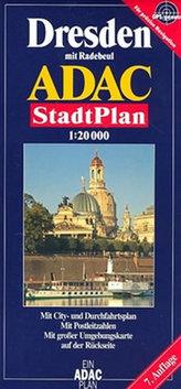 Drážďany/plán 1:20T ADAC