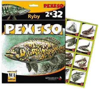 Pexeso 32 - leporelo - Ryby