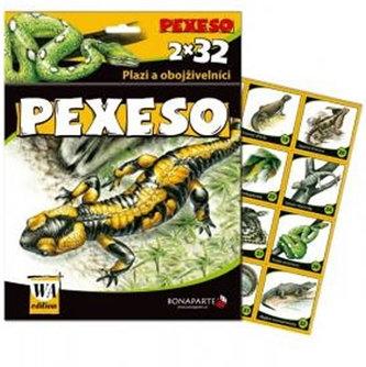 Pexeso 32 - leporelo - Plazi
