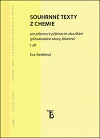Souhrnné texty z chemie I. díl