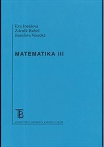 Matematika III