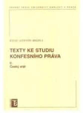 Texty ke studiu konfesního práva II.