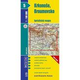 1:100T ( 5)-Krkonoše, Broumovsko (turistická mapa)