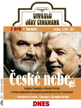 České nebe - 2 DVD - neuveden
