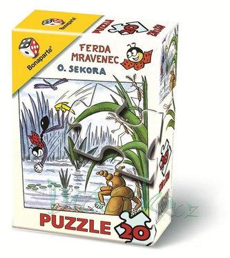 Puzzle 20 - Ferda Mravenec